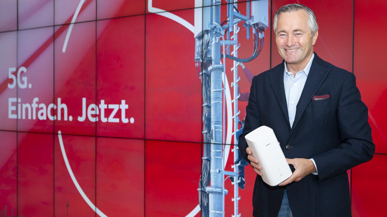 Vodafone: 5G startet morgen und kostet 5Euro mehr im Monat