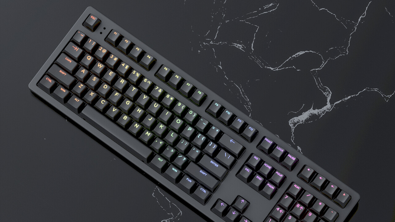 Mechanische Tastatur: Bei der Keystone stellt die KI den Signalpunkt ein