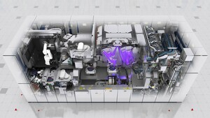 EUV-Lithografie: ASML NXE:3400C belichtet 2.000 DRAM-Wafer pro Tag
