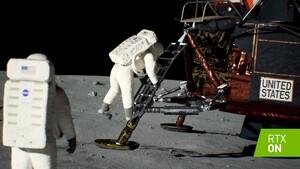 50Jahre Apollo11: Nvidia zeigt Mondlandung vollständig in Raytracing