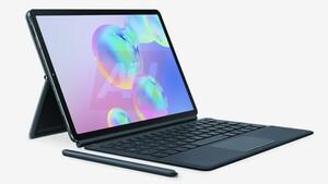 Samsung-Tablet: Galaxy Tab S6 hält den SPen magnetisch auf der Rückseite