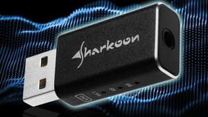 USB-Soundkarte: Sharkoons Gaming DAC Pro S ist gut und günstig
