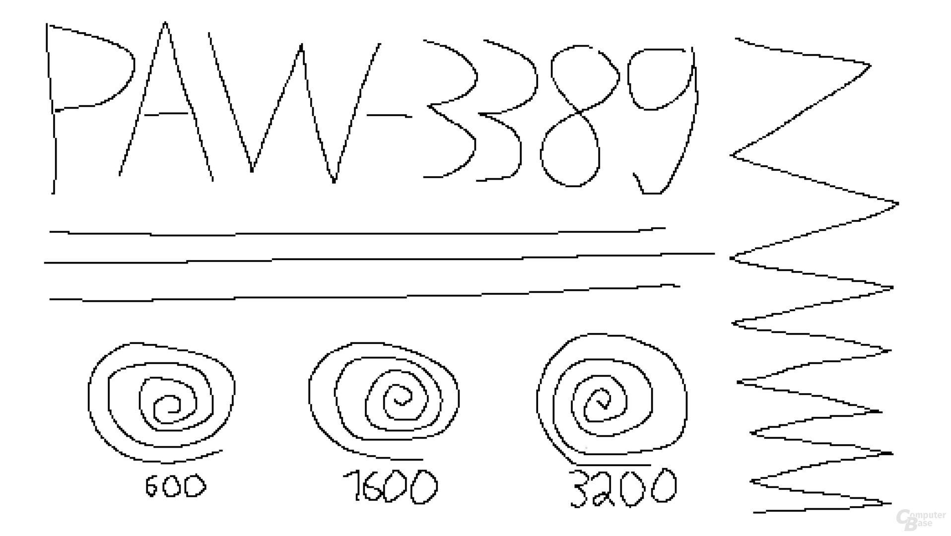 PixArt PAW-3389 (1.000 Hz, Mikrofaseruntergrund)