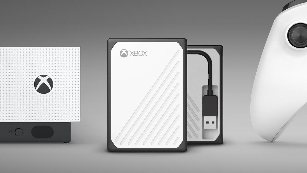WD Gaming Drive Accelerated: Externe SSD mit bis zu 1 TB für Xbox One