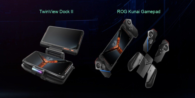 Zubehör für das ROG Phone II