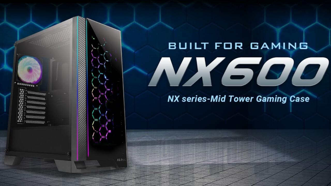 Antec NX500 & NX600: Lufteinlässe und RGB werden Gestaltungselemente