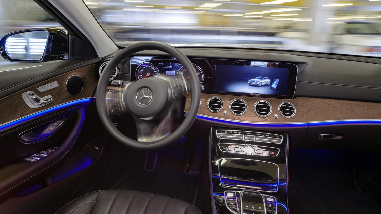 Automated Valet Parking: Bosch und Mercedes-Benz dürfen fahrerlos parken