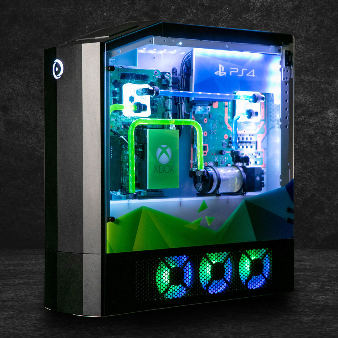Big O (2019) als Custom-PC mit Xbox, PlayStation und Switch