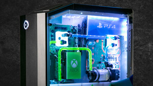 Origin PC Big O (2019): Gaming-PC mit Xbox One X, PS4 und Switch vereint