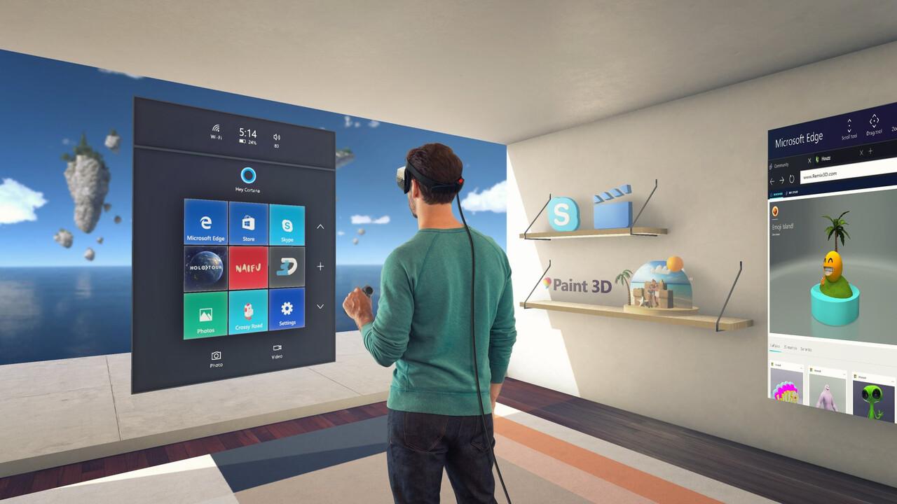 Windows Mixed Reality: OpenXR-App ab sofort im Windows Store verfügbar
