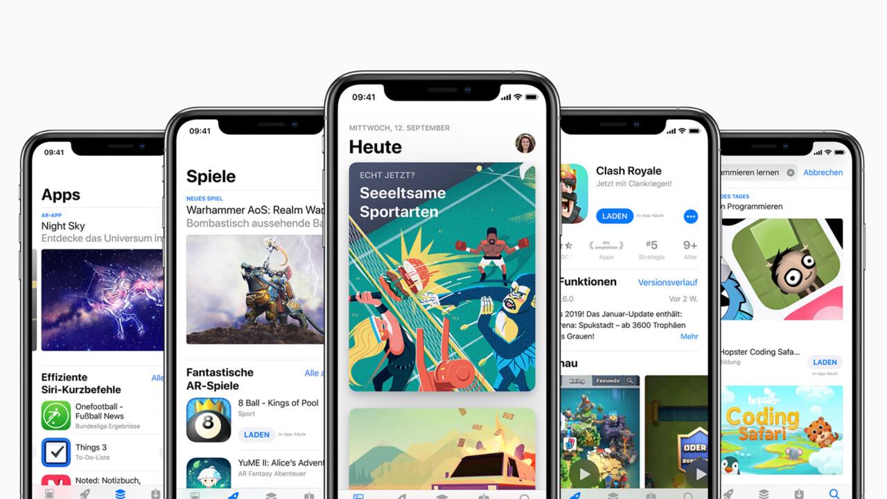 App Store: Apple dementiert die Bevorzugung eigener Apps