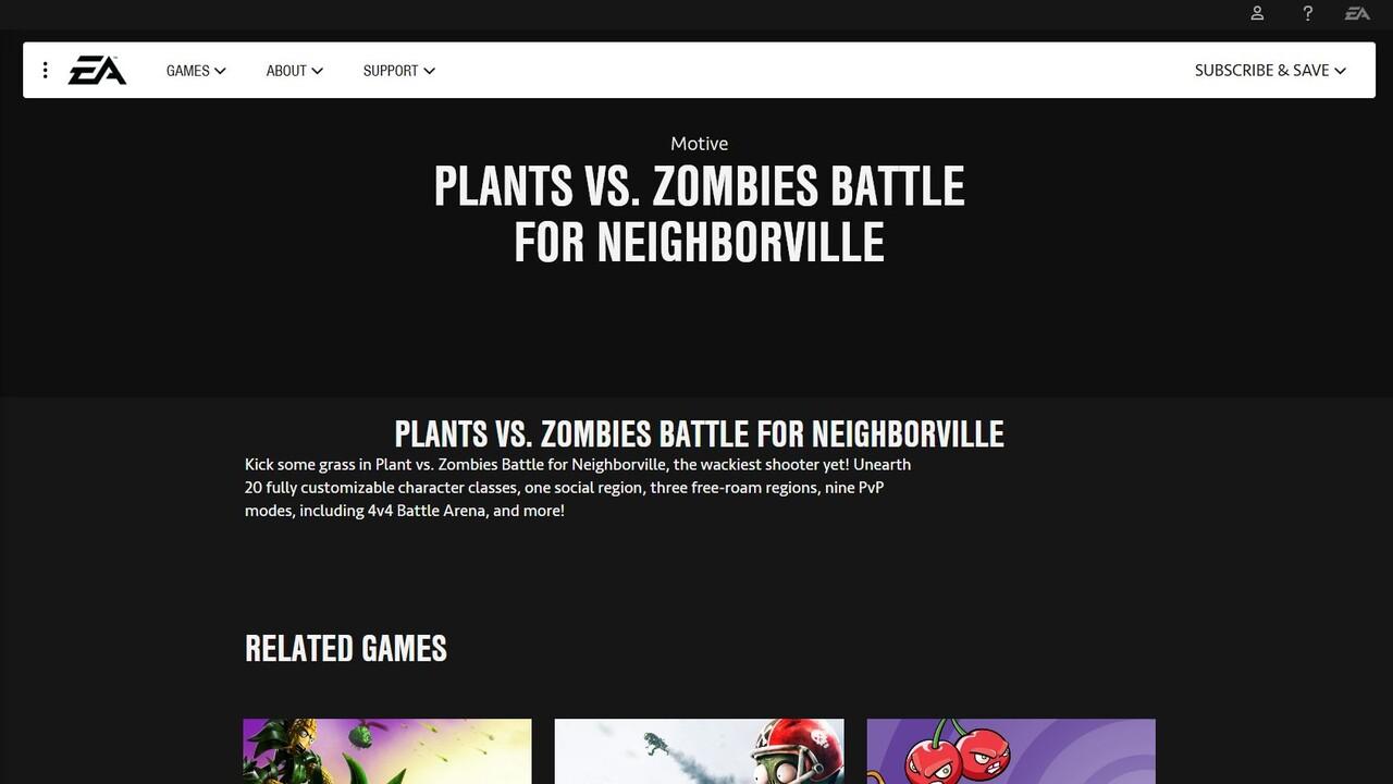 Battle for Neighborville: Erste Details zum neuen Plants vs. Zombies Shooter