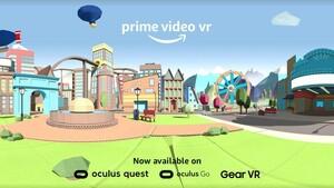 Amazon: Prime Video VR für Oculus Quest, Go und Gear VR ist da