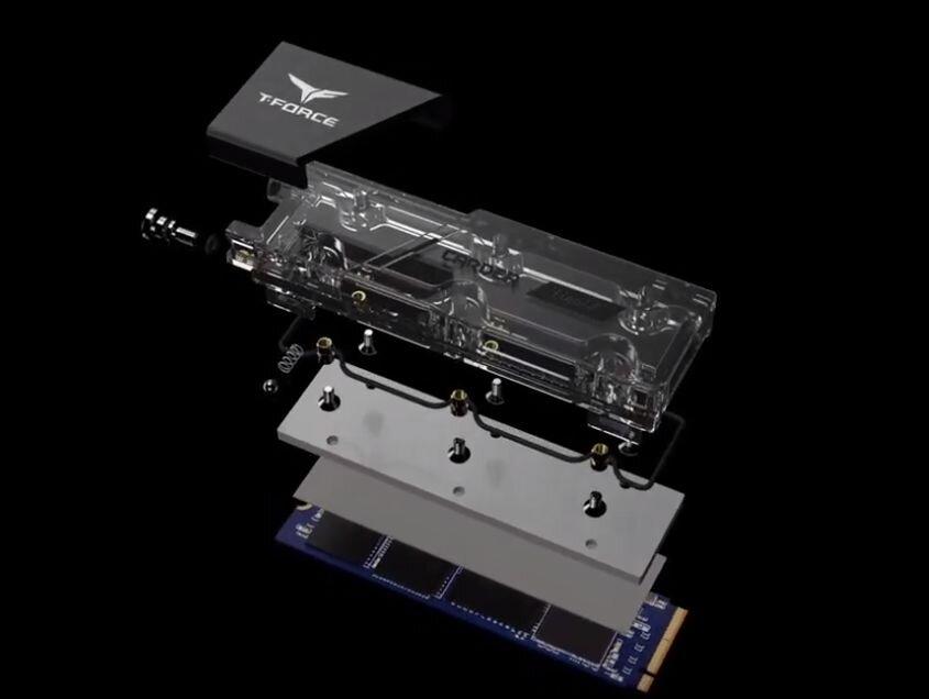Cardea Liquid M.2 PCIe SSD