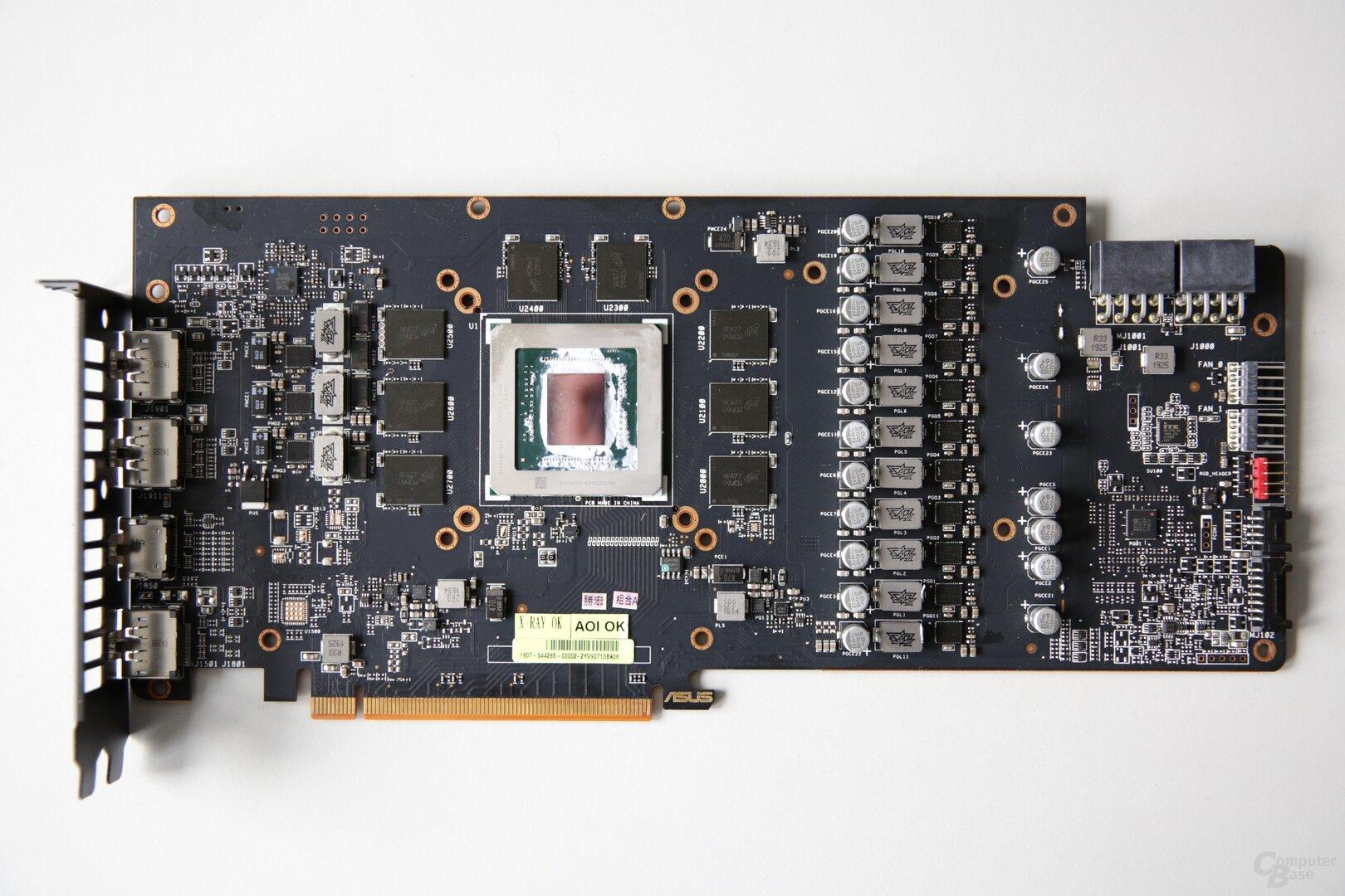 3 1080.35a28657 - Radeon RX 5700 XT Strix OC em Dê uma olhada: O Asus Custom Kill é rápido e silencioso - ComputerBase