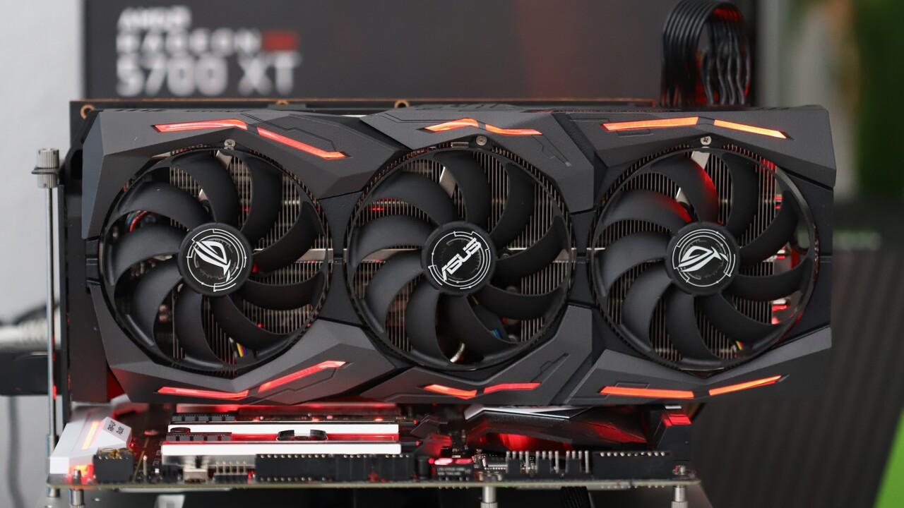 Radeon RX 5700 XT Strix OC im Test: Das Custom Design von Asus ist schnell & leise