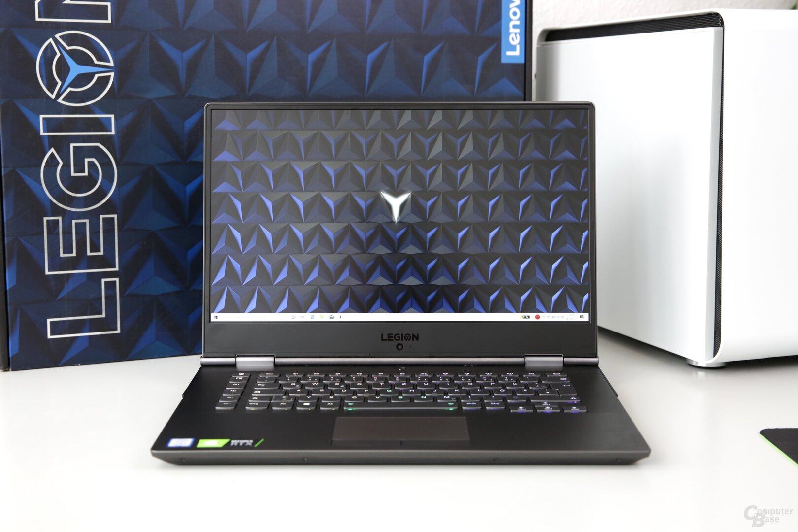 Das Lenovo Legion Y740 15 Zoll mit RTX 2080 Max-Q im Test