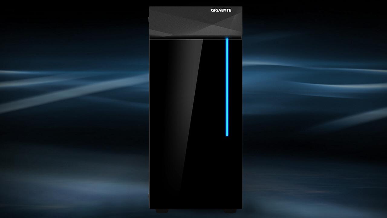 Gigabyte C200 Glass: Midi-Tower erinnert an einen Kühlschrank