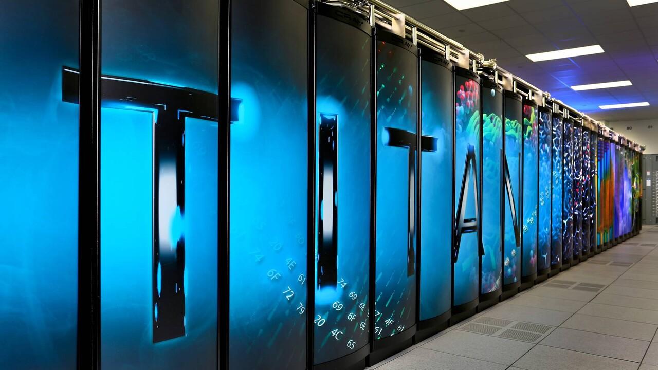 Titan: Ehemals schnellster Supercomputer geht vom Netz