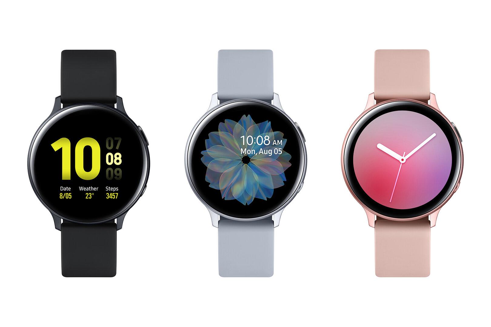 Galaxy Watch Active 2 in Aluminium mit 40mm