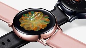 Samsung-Smartwatch: Galaxy Watch Active 2 kommt mit Touch-Lünette und EKG