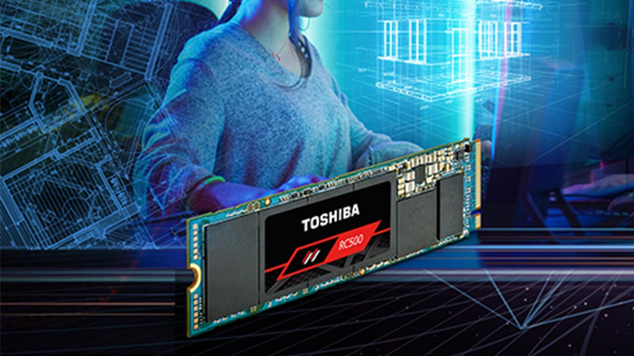 Neue NVMe-SSDs von Toshiba: RD500 für erste PCIe-3.0-Liga und RC500 für Mainstream