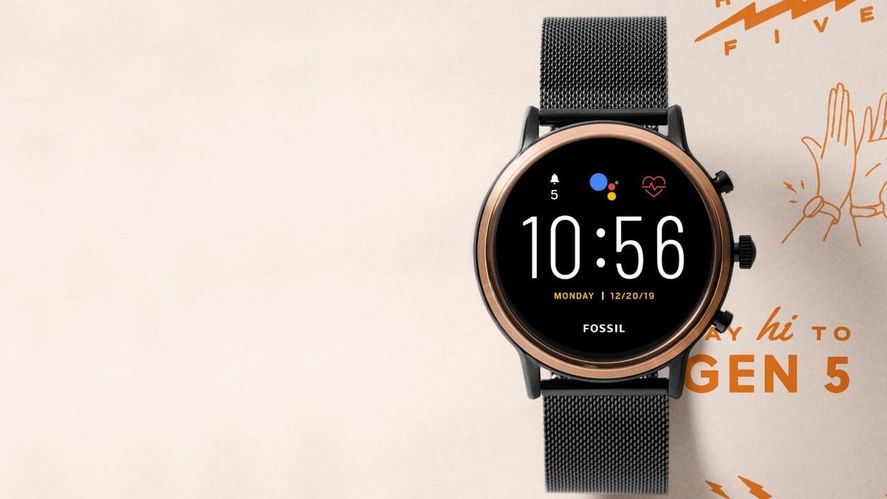 Fossil Smartwatch: Snapdragon Wear 3100 und mehr Speicher in 5.Generation