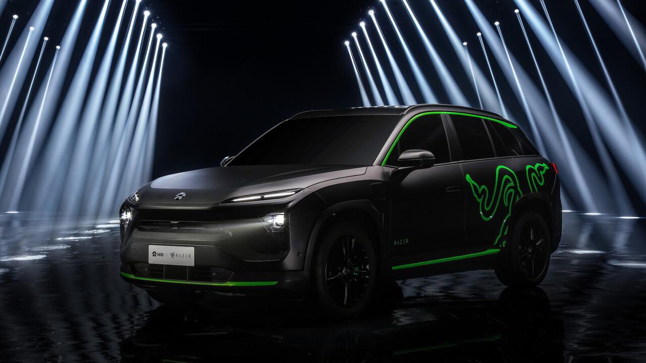 Kooperation mit Nio: E-Auto setzt beim Lichtdesign auf Razer Chroma