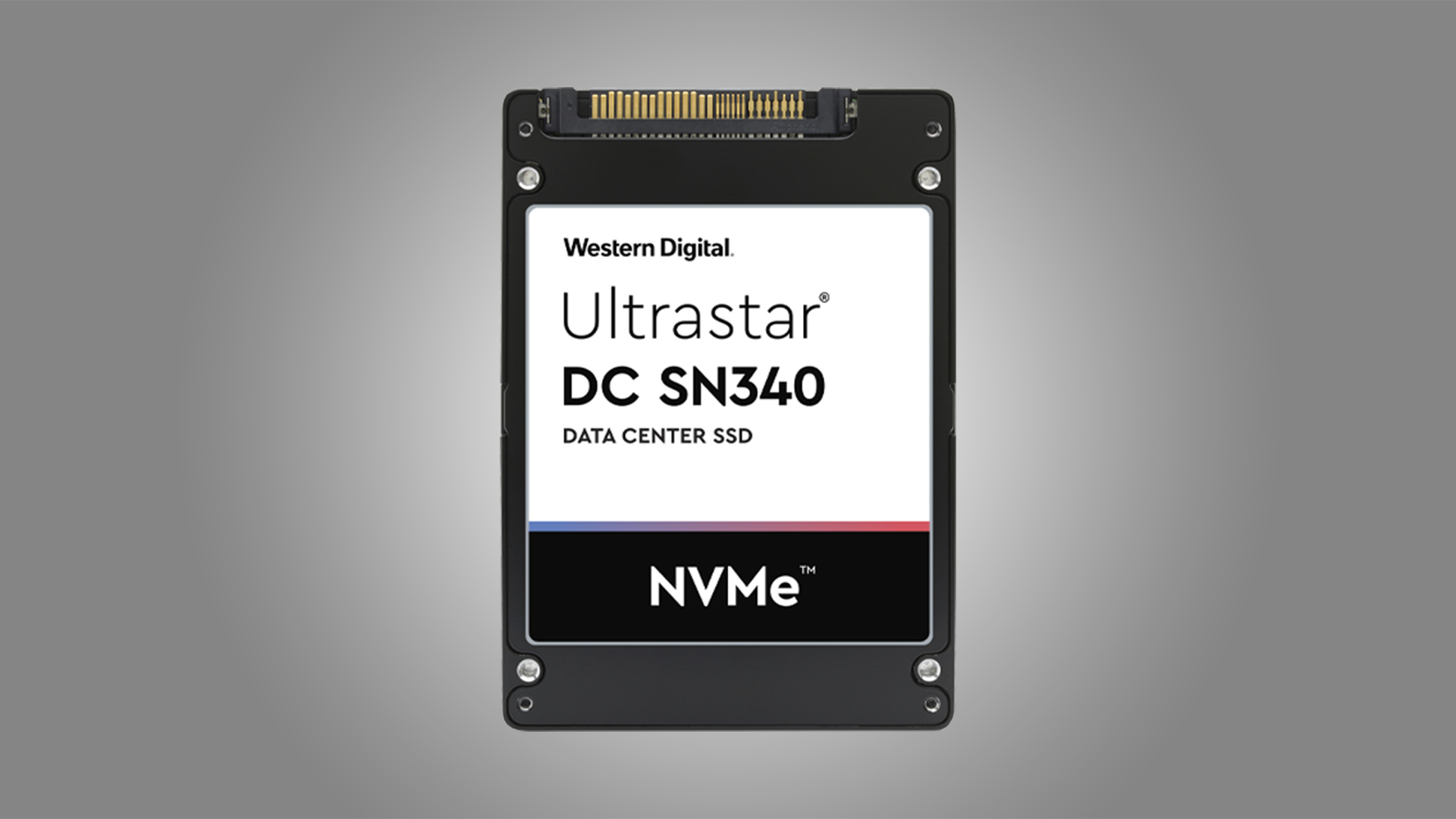 WD Ultrastar DC SN340 U.2