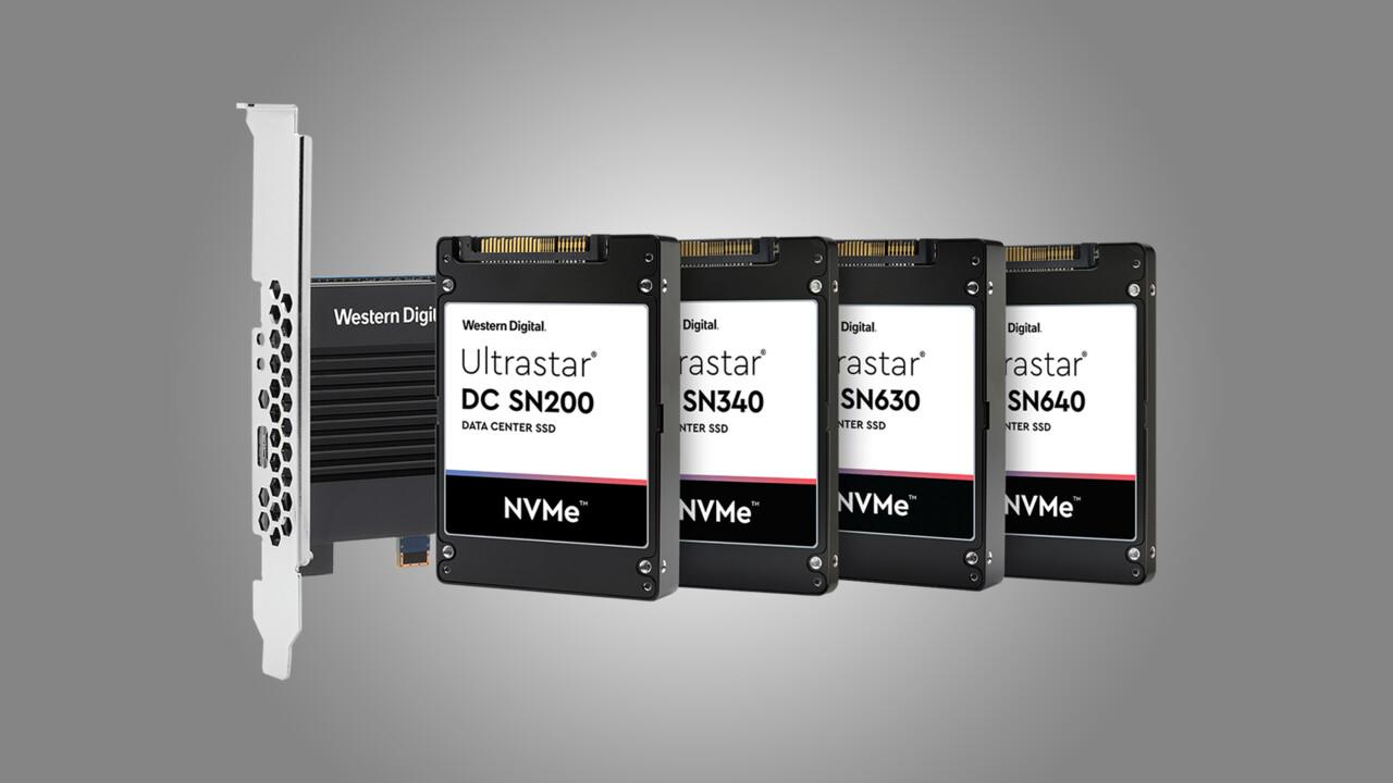 Enterprise-SSDs: Western Digitals Ultrastar DC SN640 speichert bis zu 30 TB