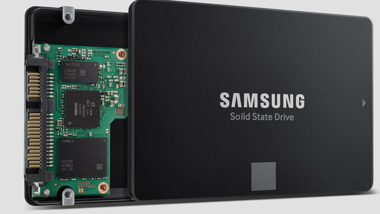 V-NAND V6: Samsungs 3D-NAND mit über 100 Schichten geht in Serie