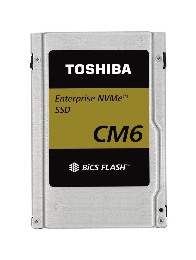 eSSD mit PCIe 4.0: Toshiba CM6