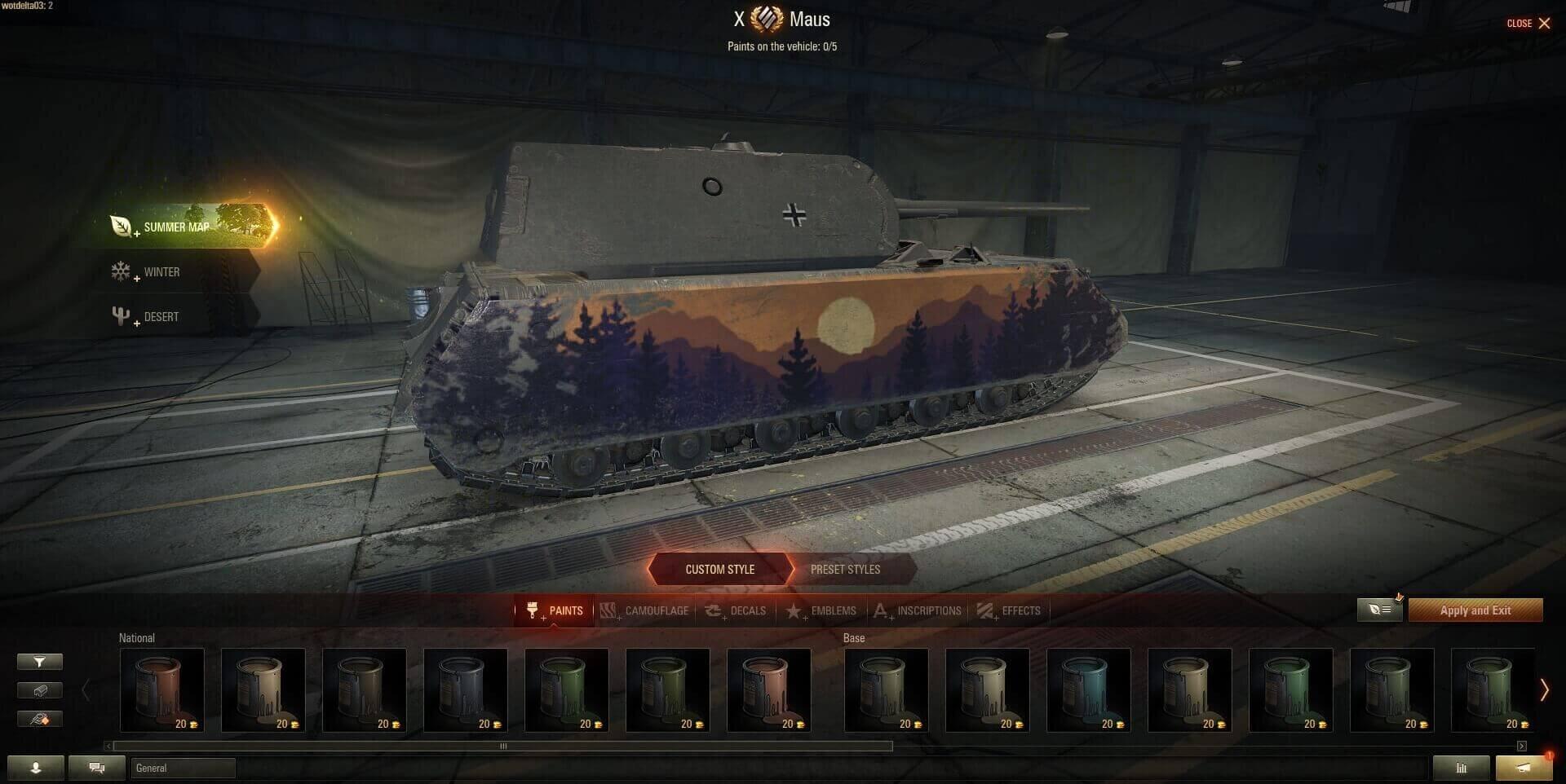 World of Tanks 1.6: Mehr optische Anpassungsmöglichkeiten