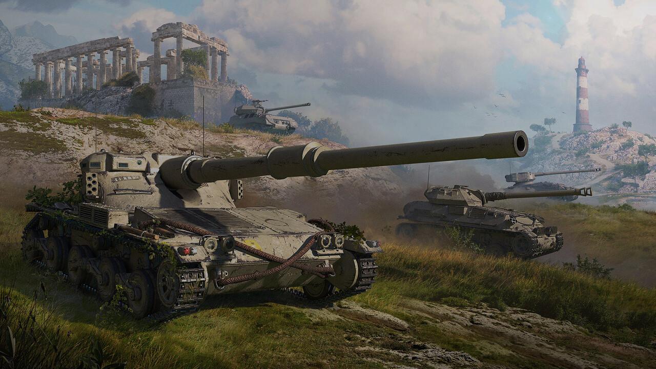 World of Tanks Update 1.6: Wegfall des Teamschadens und neue britische Panzer