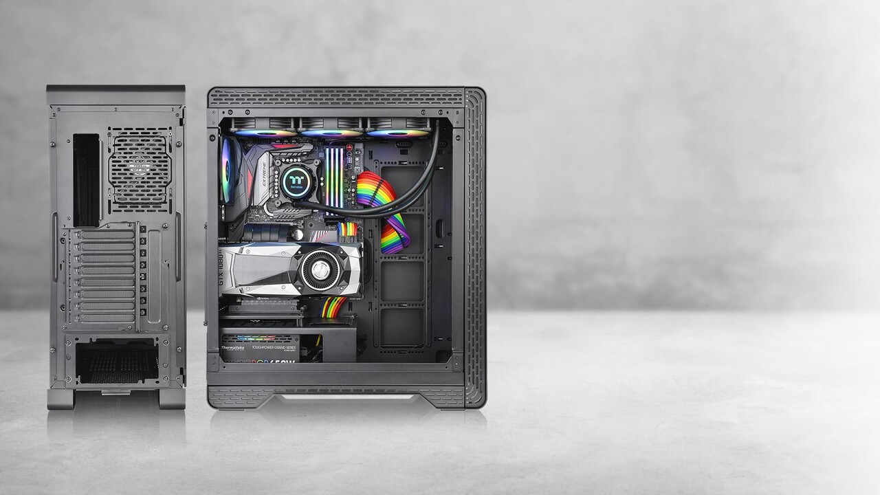 S500 TG: Thermaltakes A500 wird mit Stahl statt Alu günstiger