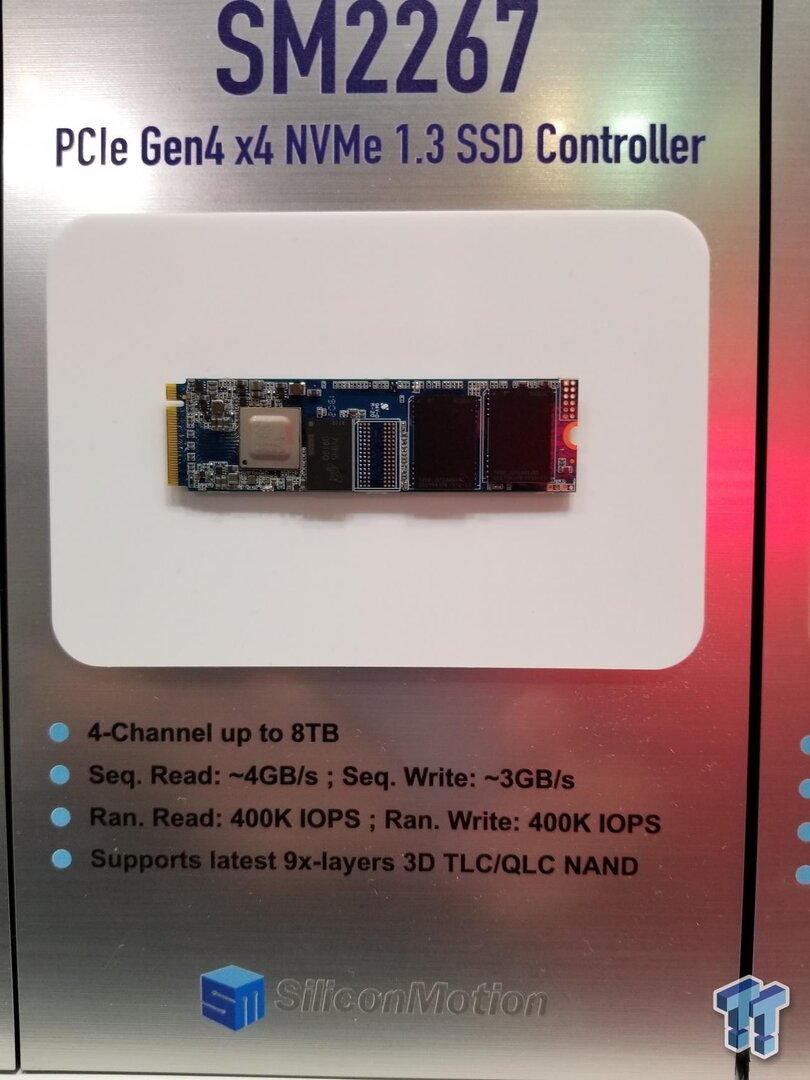 Silicon Motion SM2267 mit PCIe 4.0 für 4 GB/s