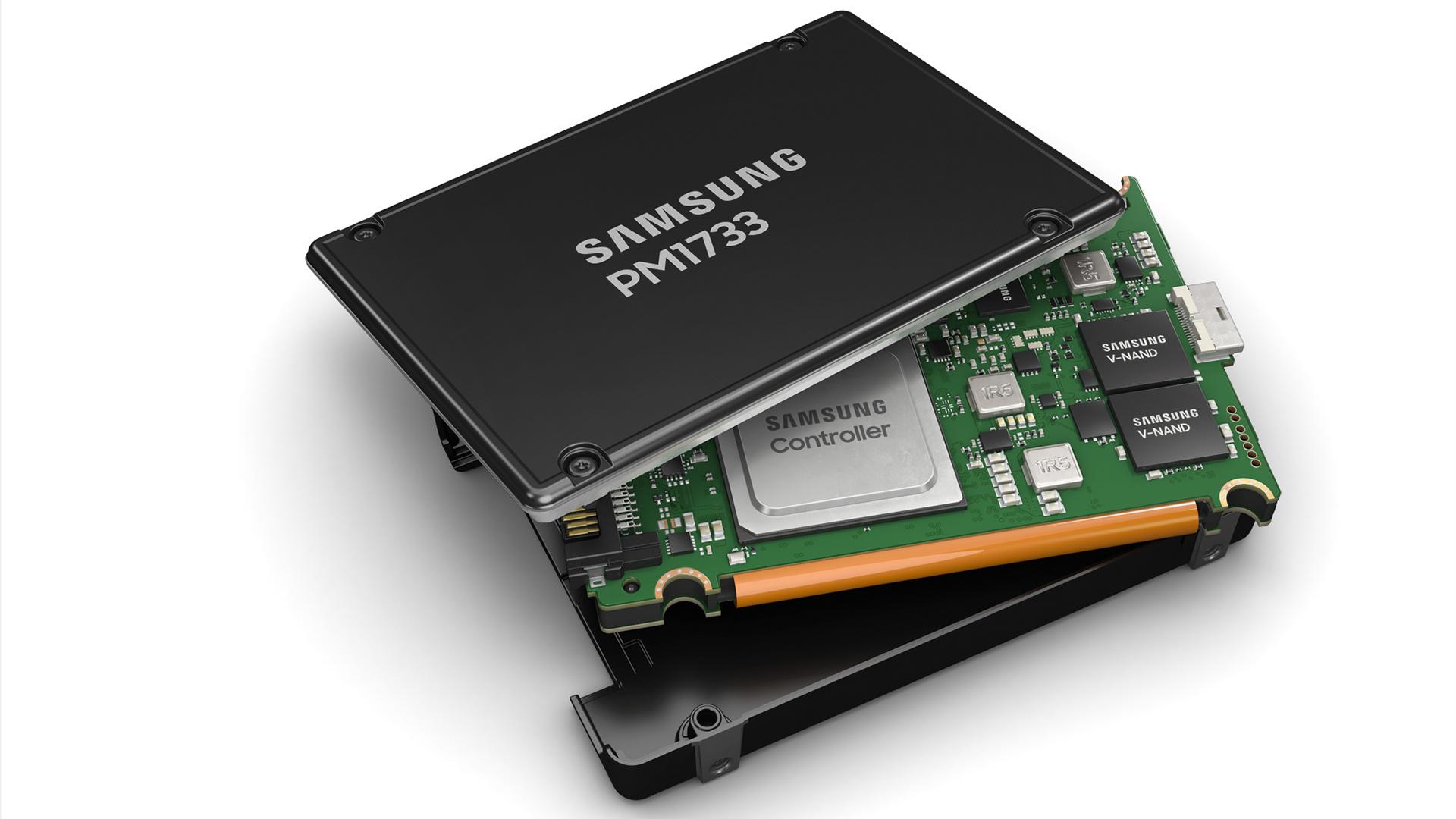 Samsung PM1733 im U.2-Format