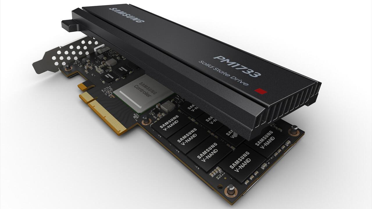 Samsung PM1733: Server-SSD für Epyc mit PCIe 4.0 und 8 GB/s