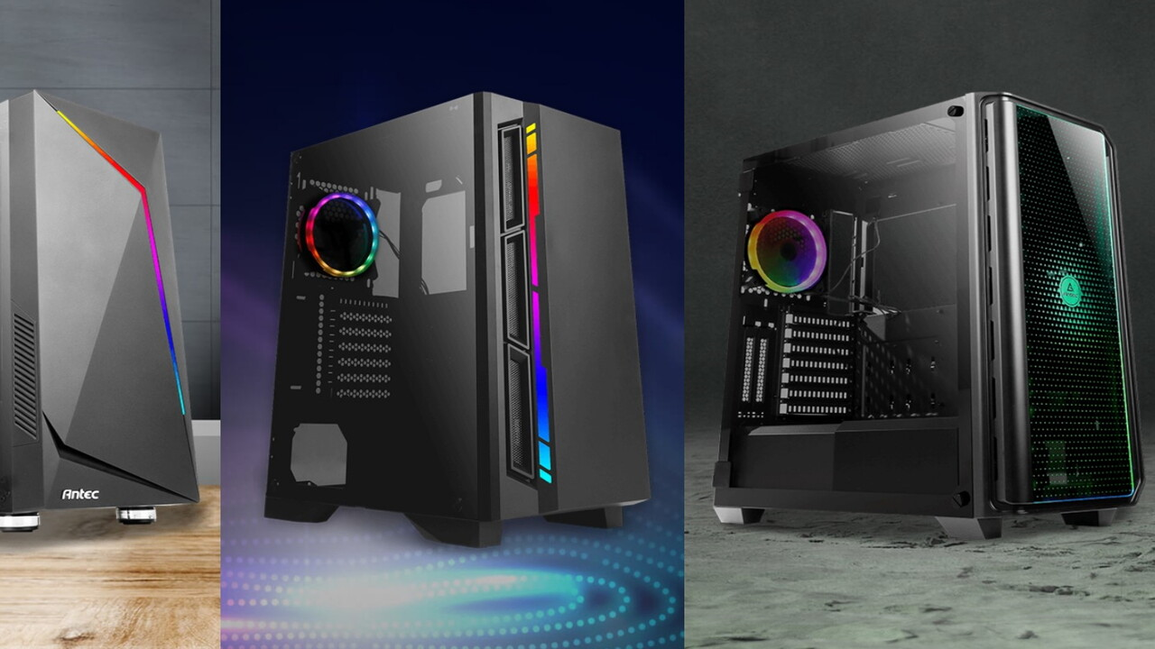 NX210, NX300, NX400 & NX1000: Antec spielt weiter mit LEDs und Lufteinlässen