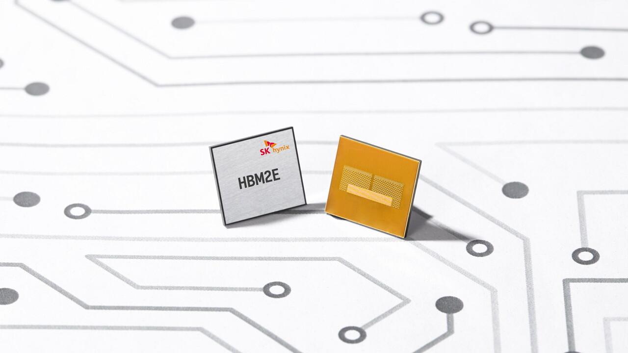 HBM2E: SK Hynix erhöht auf 460GB/s und 16 GByte