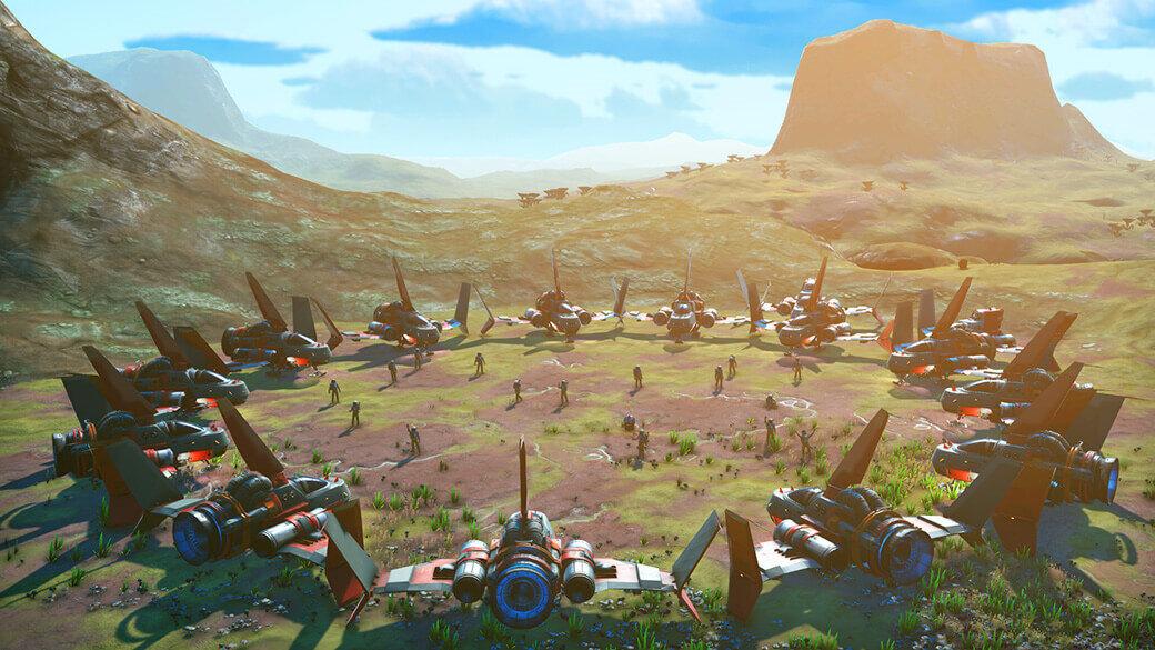 No Man's Sky Beyond: Multiplayer mit bis zu 32 Spielern