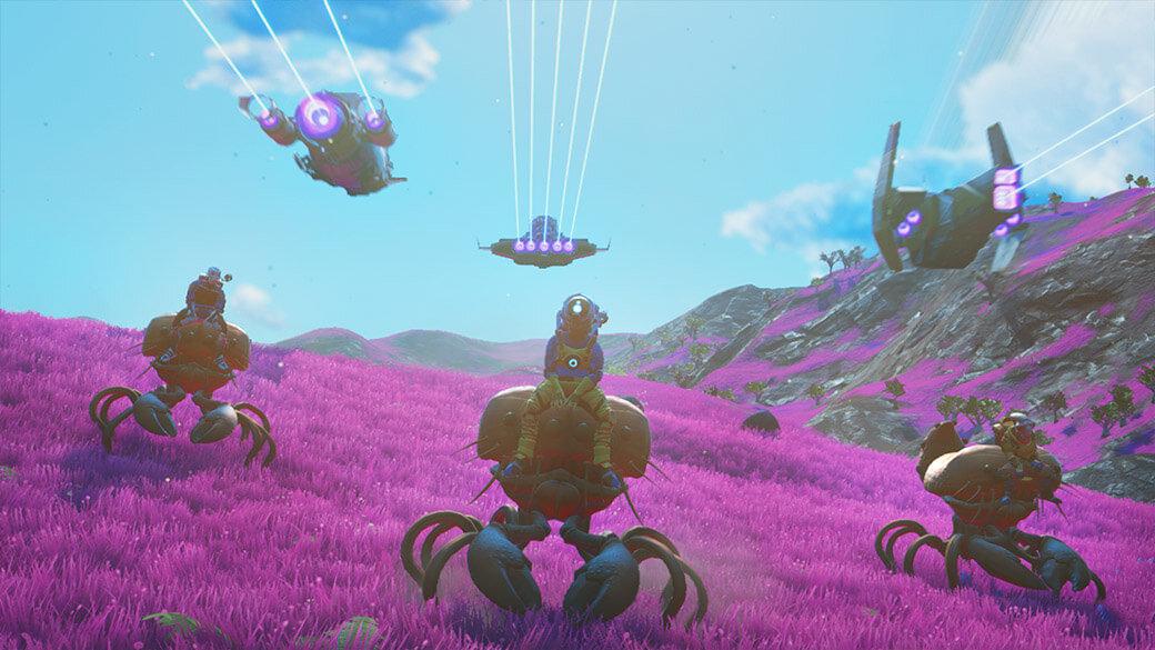 4 1080.65fa428c - No Man's Sky 2.0: Além da atualização traz VR, multiplayer para 32 jogadores e muito mais - ComputerBase