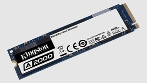 Kingston A2000: Preisgünstige NVMe-SSDs mit 2 GB/s erreichen den Handel