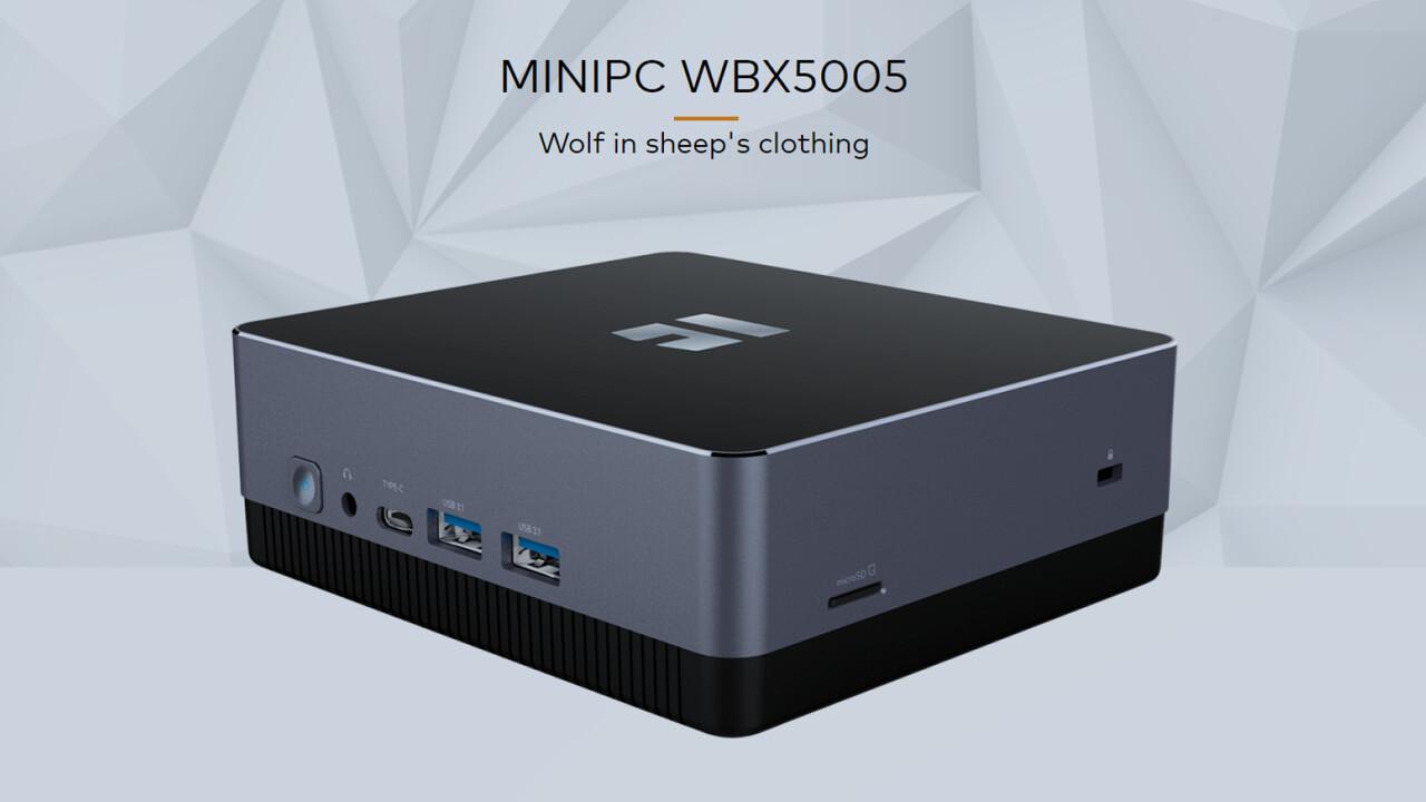 TrekStor WBX5005: Broadwell-Core-i3 & M.2-SSD kosten im Mini-PC ab 249 Euro