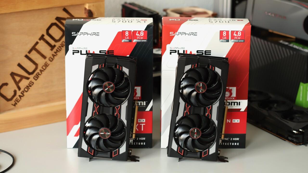 Custom Designs: AMD Radeon RX 5700 (XT) ab Lager verfügbar