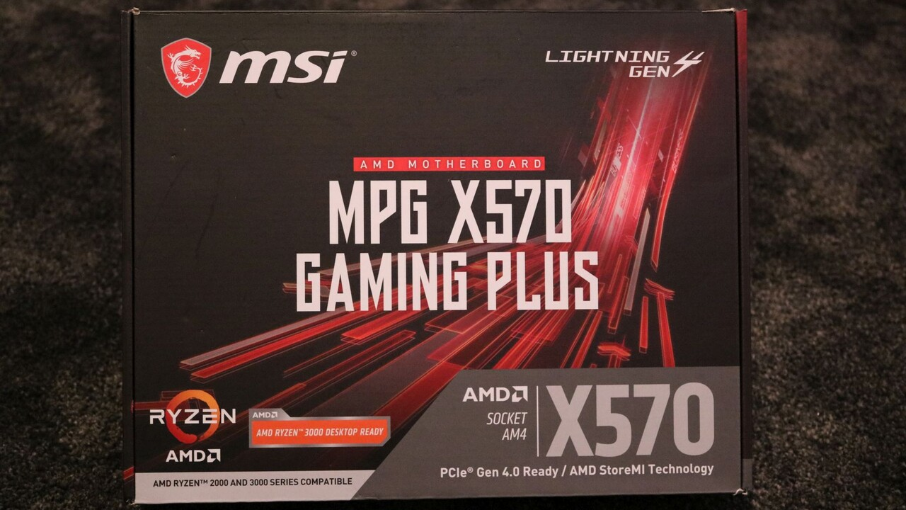 Aus der Community: MSI MPG X570 Gaming Plus im Lesertest