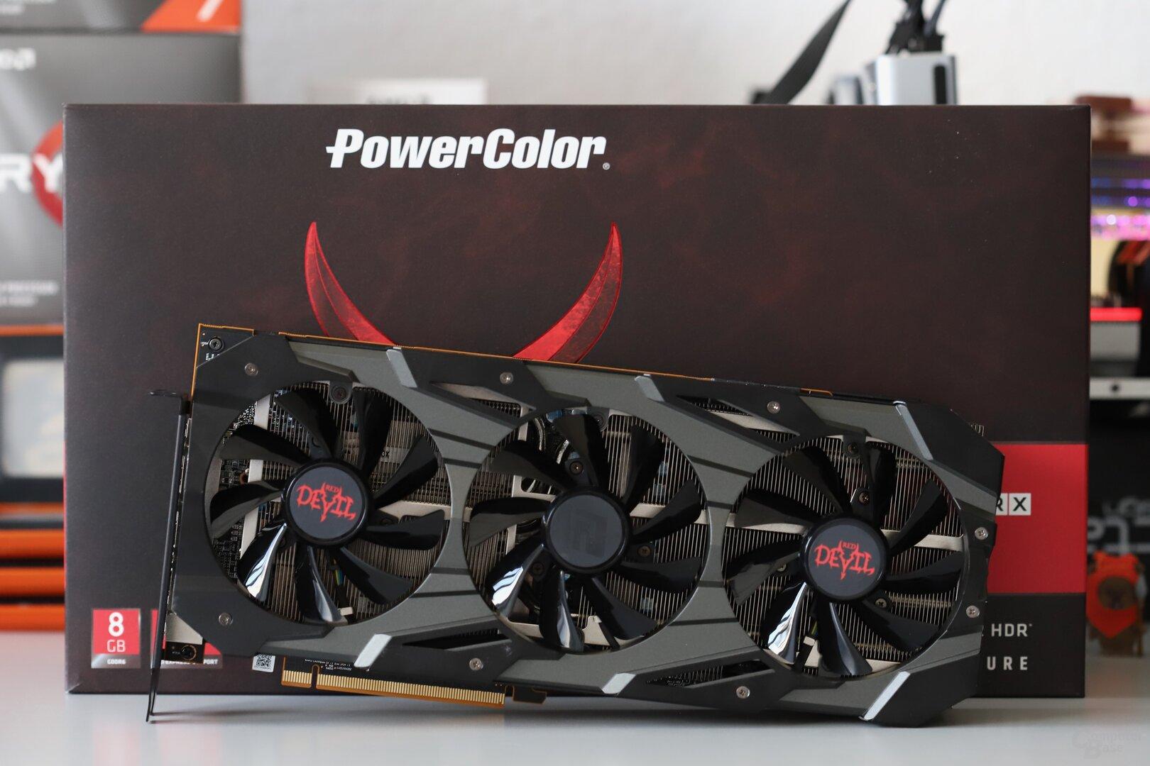 Die PowerColor Radeon RX 5700 Red Devil ohne XT im Test