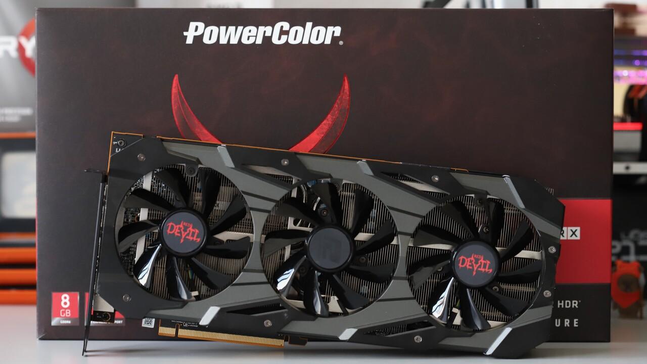 Radeon RX 5700 Red Devil im Test: Das Teufelchen lässt Navi 10 verstummen