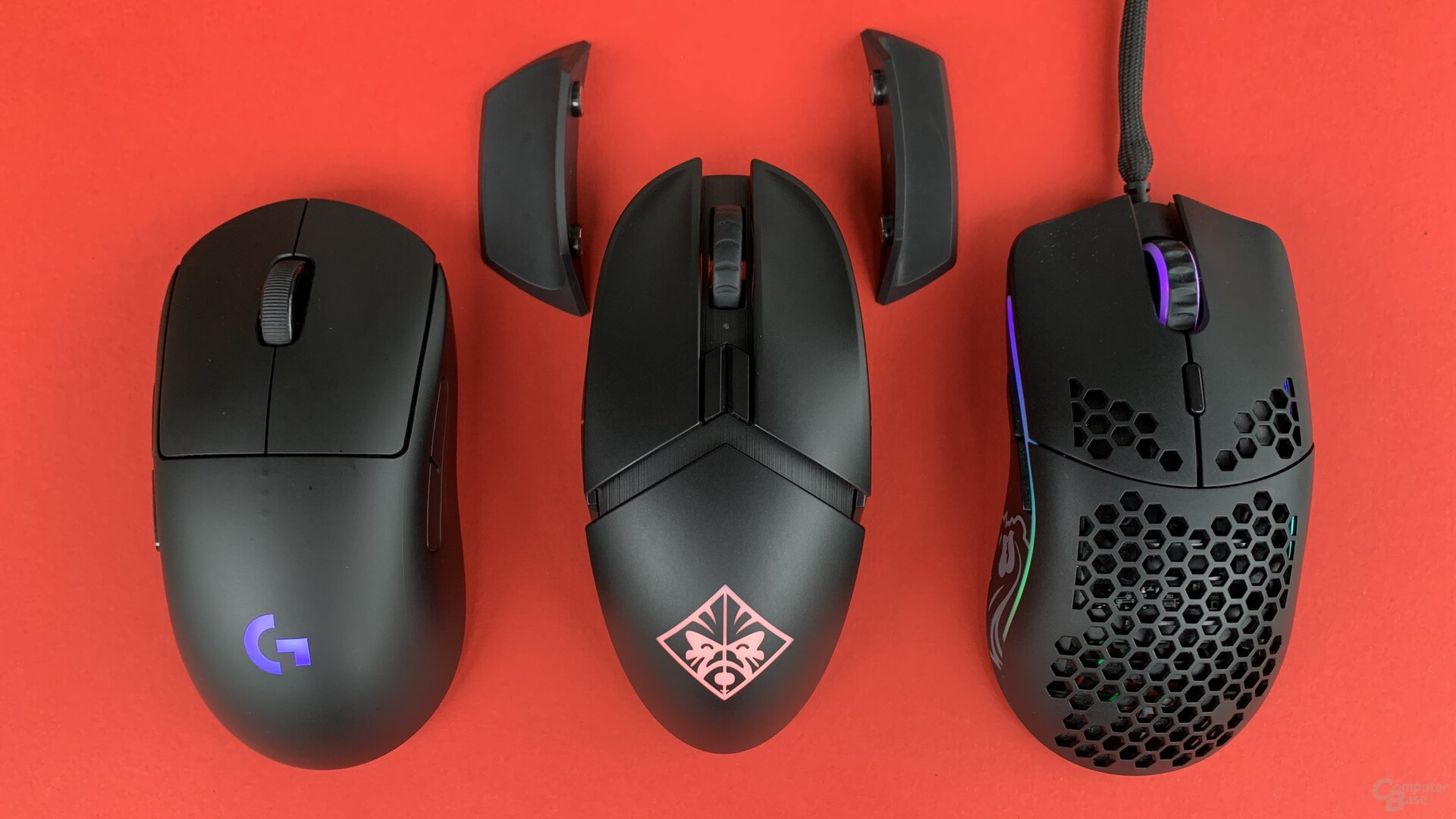 Logitech G Pro Wireless, HP Omen Photon, GPCGR Model O
