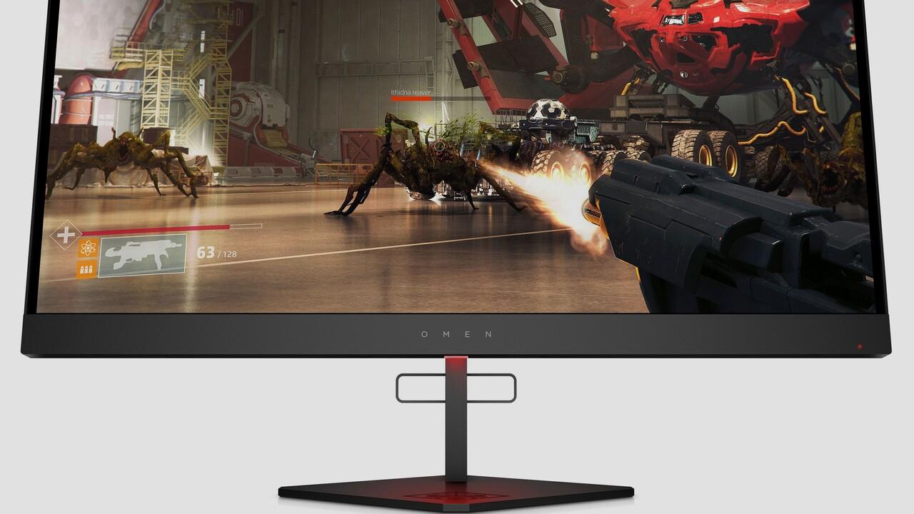 Omen X 27: HP macht 2.560 × 1.440 Pixeln mit 240 Hz Beine